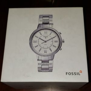 Fossil hybrid smartwatch Virginia stainless steel